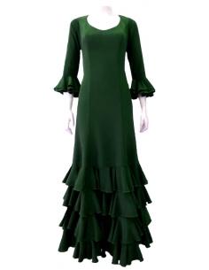 4-FRILL DRESS, STANDARD SIZE