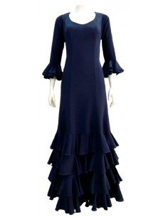 4-FRILL DRESS, MADE-TO-MEASURE
