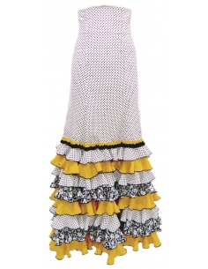 8-FRILL SKIRT, MADE-TO-MEASURE