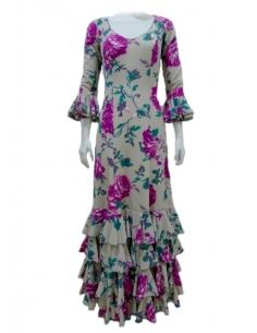 4-FRILL DRESS,...