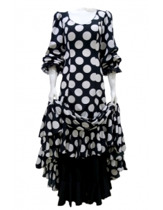 DRESS WITH UNDERSKIRT,...