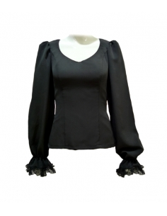 TOP WITH ZIPPER, STANDARD...