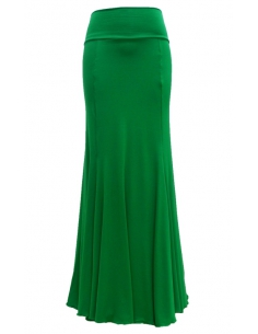 BASIC SKIRT, 'ANDALUSIA' GREEN COLOR