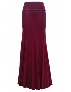 BASIC SKIRT, 'VINEYARD' RED COLOR